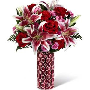17-V1CAS Bouquet Romance durable de FTD