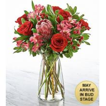 FK993 Bouquet match parfait- VASE INCLUS
