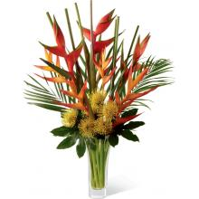 LX114 Bouquet Striking Luxury Tropical