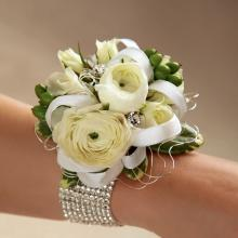 W8-4639 Le Corsage FTD® Marriage Blanc